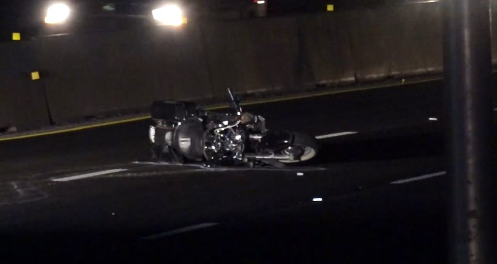 Man killed in motorcycle crash on I-35E in Denton | Denton
