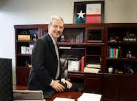 <p>While raised in Louisiana, Payne considers himself a true Texan — he features the state's flag in his office in northeast Dallas.</p>(Lawrence Jenkins/Special Contributor)