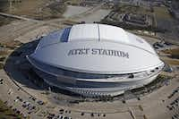 AT&T Stadium in Arlington.(Nathan Hunsinger/Staff Photographer)