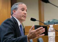 Texas Attorney General Ken Paxton.(Eric Gay/The Associated Press)
