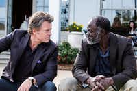 Greg Kinnear and Djimon Hounsou in the new movie, <i>Same Kind of Different As Me</i>.(Dale Robinette)