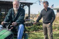 Jon Voight and Greg Kinnear in <i>Same Kind of Different As Me</i>.(Dale Robinette)