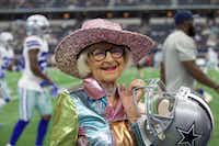 Baddie Winkle is an 89-year-old Instagram celebrity, who is crossing epic things off her bucket list. On Sunday, Winkle attended the Dallas Cowboys game against the Green Bay Packers(Brandon Wade/AP Images for Hotels.com)