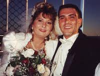 David and Glenda Schober of Mesquite married aboard the Texas Star Ferris wheel at the State Fair in 1994. (David Schober)