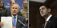 """<p><br>After Texas Gov. Greg Abbott blamed Texas lawmakers for a disaster relief bill that omitted special Harvey aid, rattled members sought help from above: Speaker Paul Ryan. (Jay Janner/Austin American-Statesman;&nbsp;Gabriella Demczuk/The New York T<wbr style="""""""">imes)<br></p>"""