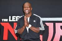 Actor Terry Crews said he chose to remain silent after being groped by a Hollywood executive.(FREDERIC J. BROWN/AFP/Getty Images)
