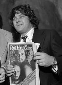 &nbsp; In this May 8, 1979 file photo, editor and publisher of <i>Rolling Stone</i>&nbsp;Jann Wenner, appears in New York. &nbsp;&nbsp;(Suzanne Vlamis/The Associated Press)