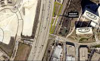 The hotel is planned for the east side of U.S. 75.(City of Richardson)
