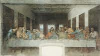 <i>The Last Supper</i>, by Leonardo Da Vinci. From Walter Isaacson's <i>Leonardo Da Vinci</i>.&nbsp;&nbsp;(Mondadori Portfolio/Getty Images/Mondadori Portfolio)