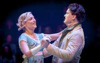 Kate Paulsen as Jane Bennet and Justin Duncan at Mr. Bingley in 'Pride and Prejudice' by the WaterTower Theatre in Addison.(Ron Heflin/Special Contributor)