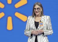 Alice Walton, daughter of Wal-Mart founder Sam Walton, is the wealthiest Texan and the richest woman in America.(Danny Johnston/The Associated Press)