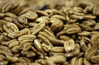 Shelled pecans at the Navarro Pecan Company in Corsicana.(LM Otero/The Associated Press)