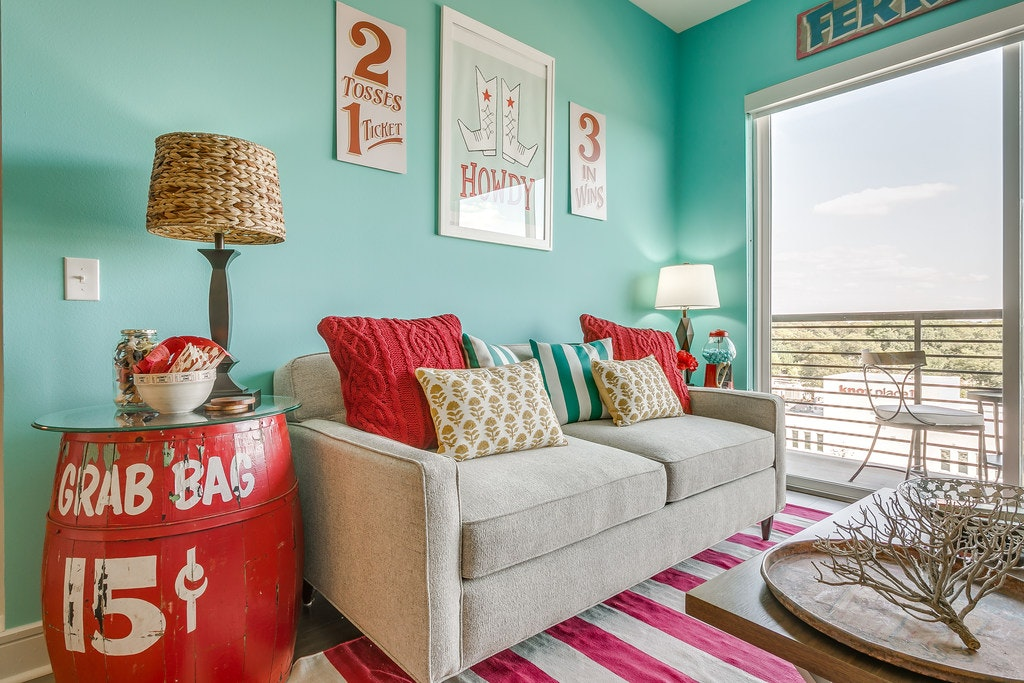 Peek Inside This State Fair Of Texas Themed Apartment Where Only Thing  Missing Is A Corny Dog