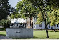 Timberlawn Psychiatric Center at 4600 Samuell Blvd. in Dallas.(Ashley Landis/Staff Photographer)