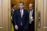 "Sen. Ted Cruz, R-Texas, has said Republicans could face a ""Watergate-level blowout"" if they don't pass a tax overhaul in the coming months. (Bill Clark/Roll Call)"