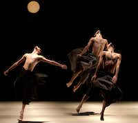 Kibbutz Contemporary Dance Company performed <i>If At All</i> when the troupe made its Dallas debut in 2014.(Uri Nevo)