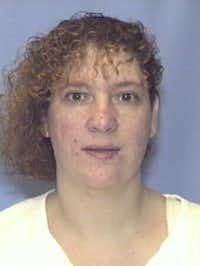 Cynthia Fedrick was convicted of conspiracy to commit capital murder in the Oct. 23, 1987, shooting of Midlothian police Officer George Raffield. Fedrick was 23 at the time of her arrest. This prison photo is from October 1999. Fedrick died in 2005.(Texas Department of Criminal Justice)