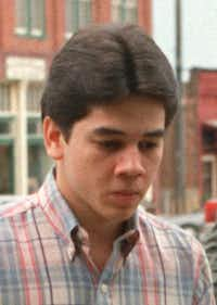 Greg Knighten, 16, was convicted of murdering Midlothian undercover Officer George Raffield.(File photo)
