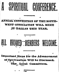 1897(The Dallas Morning News archives)