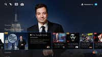 Playstation Vue's channel menu.(Sony)