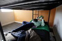 A 13-year-old girl relaxes at Promise House, a Dallas nonprofit that helps homeless, runaway and at-risk youth.(2016 File Photo/The Dallas Morning News)