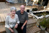 Bill and Brenda Dunklau decided not to buy flood insurance.(Nathan Hunsinger/Staff Photographer)