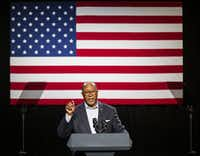 "Ron Kirk, the former Dallas mayor who served as Barack Obama's trade ambassador, said India is known for having agricultural tariffs that are ""wonderfully arbitrary.""(Ashley Landis/The Dallas Morning News)"