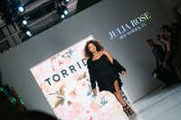 Julia Rose Miller of Round Rock is one of the four finalists in the Torrid model search.(Sam Deitch/BFA.com)