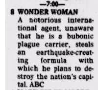 "From ""Channel Choices"" in the Dec. 25, 1976, edition of <i>The Dallas Morning News</i>(<p><br></p><p><br></p>/<br>)"