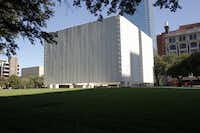 "<p><span style=""font-size: 1em; background-color: transparent;"">The John Fitzgerald Kennedy Memorial in downtown Dallas was erected in 1970 and designed by noted architect Philip Johnson.</span></p>(David Woo/Staff Photographer)"
