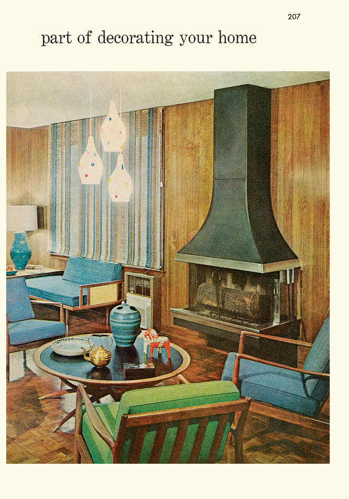 Interiors advice straight from the era that brought us mid-century ...