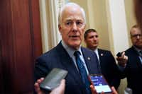 """Senate Majority Whip Sen. John Cornyn, R-Texas, said """"there is no clear delineation between who is middle class and who is the poor and who is the rich."""" (AP Photo/Jacquelyn Martin)(Jacquelyn Martin/AP)"""