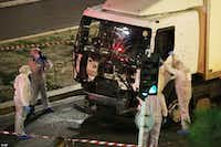 A truck drove into crowds of people celebrating Bastille Day on July 14, 2016, in Nice, France, killing 86 people.(File Photo/The Associated Press)
