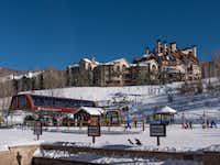The Buckaroo Express gondola serves base-area kid's slopes at Colorado's Beaver Creek Ski Resort.  Atop the mountains, the new Red Buffalo Park will provide a family adventure zone.(Dan Leeth/Special Contributor)