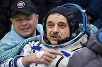 """<p><span style=""""font-size: 1em; background-color: transparent;""""><p>Russian cosmonaut Mikhail Kornienko</p></span></p>(Krill Kudryavtsev/Associated Press)"""