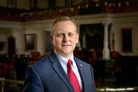 <p>Former Rockwall City Council member Scott Milder, a Republican, is challenging Lt. Gov. Dan Patrick.</p>(Courtesy/<p>Scott Milder campaign</p>)