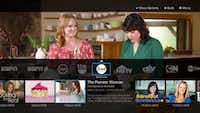 The Sling TV app provides a quick view of network programming. (The Associated Press)