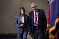 """Rep. Lloyd Doggett, D-Austin,blasted the GOP tax bill as a win for """"limousine lobbyists.""""(Drew Angerer/Getty Images)"""