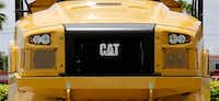 <p>Heavy machinery company Caterpillar reported the highest tax rate, 138.1 percent, but two experts agreed that doesn't reflect the company's actual tax rate.</p>(Alan Diaz/The Associated Press)