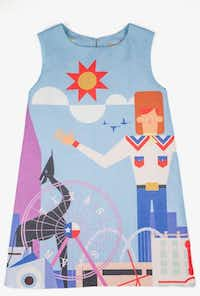 "<p><span style=""font-size: 1em; background-color: transparent;"">Kid Made Modern's State Fair of Texas children's dress</span><br></p>(Forty Five Ten)"
