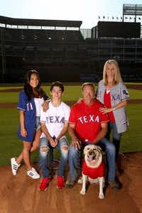 "<p><span style=""font-size: 1em; background-color: transparent;"">Texas Rangers Manager Jeff Banister and wife Karen are serving as honorary co-chairs for Operation Kindness' 25th annual Canines, Cats & Cabernet. They have two children, Alexandra and Jacob, in addition to four furry family members: Labradors Bella (shown) and Scout and two Maltese named Gracie and Cooper. (Operation Kindness)</span></p>"