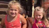 Daughters, ages 5 and 7, of Sarah and Jacob Henderson. (KXAS-TV/NBC5)