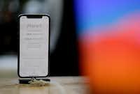 iPhone X went on sale Nov. 3, 2017.(Eric Risberg/AP)