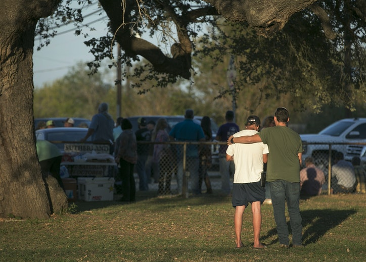 sutherland springs single men Sutherland springs church gunman's  he was shot and chased by two men who heard the  said kelley's cause of death is suicide from a single gunshot .