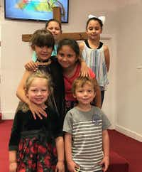 "<p>Bottom row: Brooke and Ryland Ward, both five. Middle row: Haley Ward and Emily Garza, 7. Top row: <span style=""font-size: 1em; background-color: transparent;"">Rhianna Garza and McKinley Ward, 9. Brooke Ward and Emily Garza were killed in the shooting at the First Baptist Church of Sutherland Springs on Sunday, Nov. 5, 2017. Ryland Ward was out of surgery and stable as of Sunday night. (Photo courtesy of Michael Ward)</span></p>"