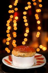 Duck souffle at Rise restaurant (Jae S. Lee/Staff Photographer)