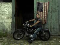 Annie Leibovitz's portrait of Bruce Springsteen on tour, Paris, 2016, from <i>Annie Leibovitz: Portraits 2005-2016, </i>published by Phaidon.(Phaidon/<p>(c) Annie Leibovitz</p>)