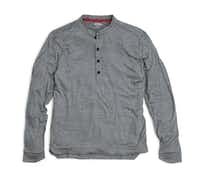 Western Rise's Dry Weight Merino Henley Tops(Western Rise)
