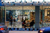 The tiles give The Commissary a distinctive look. (Nathan Hunsinger/Staff Photographer)