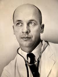 Dr. Percy Luecke in 1962.